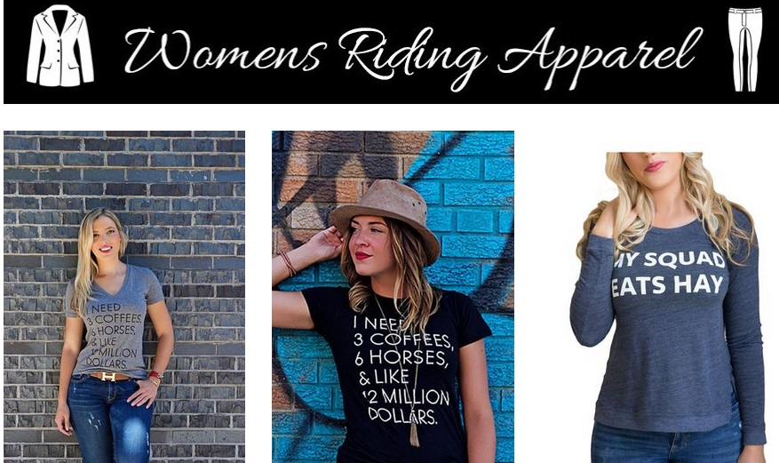 Horse riding clothes that are good looking and comfortable